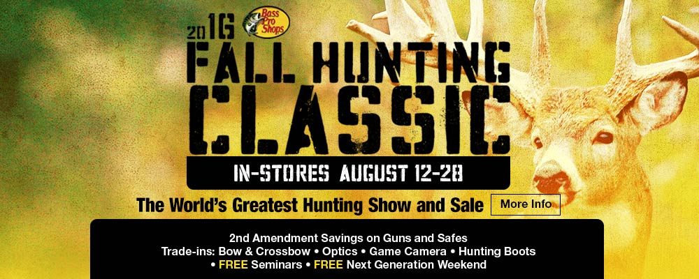 2016 Fall Hunting Classic at Bass Pro Shops