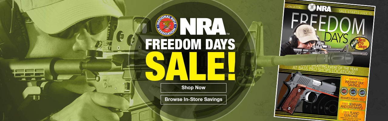 NRA Freedom Days Sale!