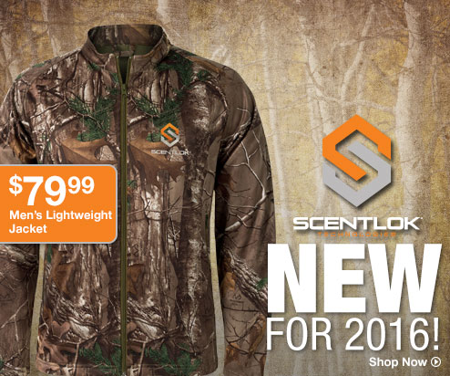 New for 2016! Scentlock - Shop Now