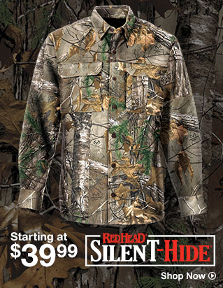 RedHead Silent Hide - Starting at $39.99 - Shop Now
