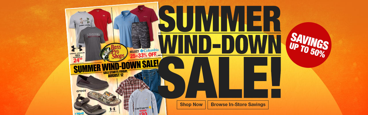 Summer Wind-Down Sale