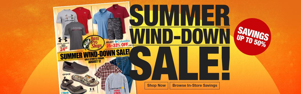 Summer Wind-Down Sale