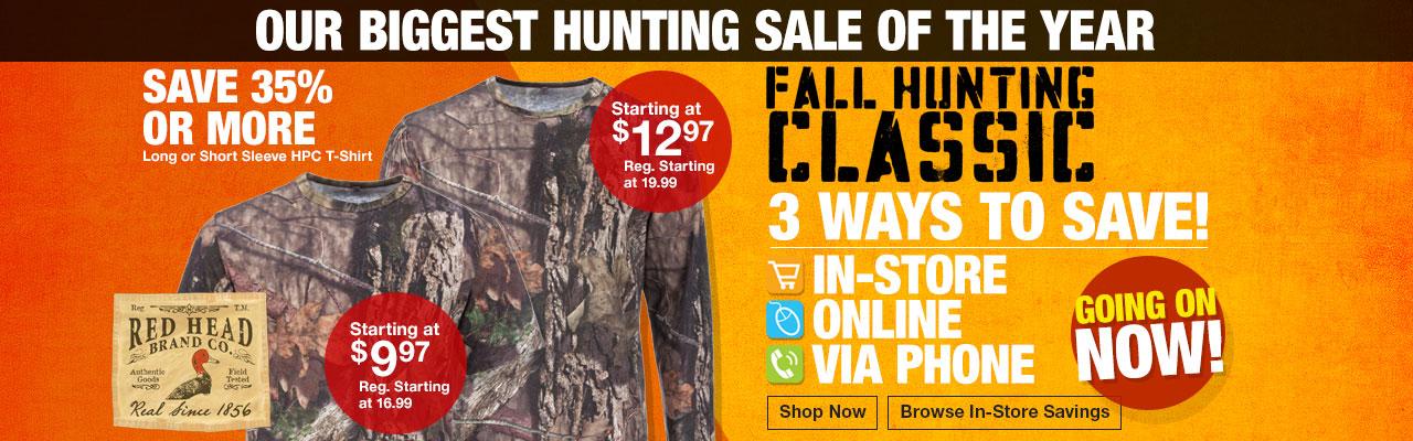 2016 Fall Hunting Classic