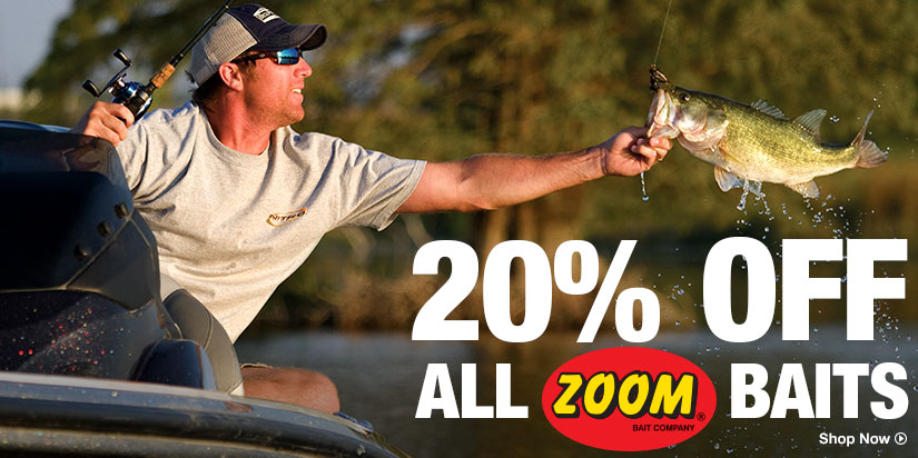 20% Off All Zoom Baits - Shop Now