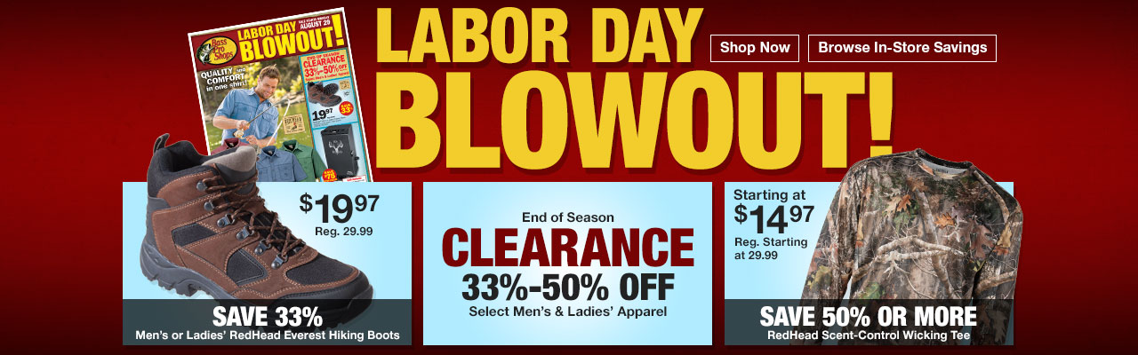 Labor Day Blowout