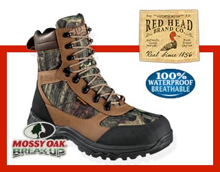 RedHead Men's 8 inch Hickory Ridge Boots - Save $40