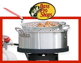 Bass pro shops the best hunting fishing camping for Bass pro fish fryer