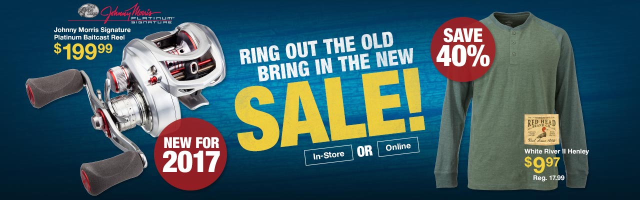 Ring out the Old Bring in the New Sale