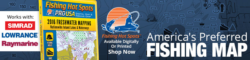 Fishing Hot Spots - America's Preferred Fishing Map - Shop Now