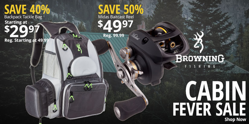 Cabin Fever Sale - Save up to 50%