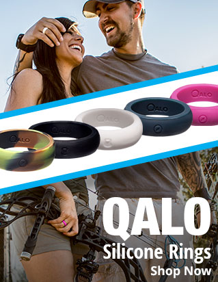 Qalo Silicone Rings - Shop Now