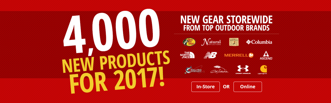 4,000 New Products for 2017