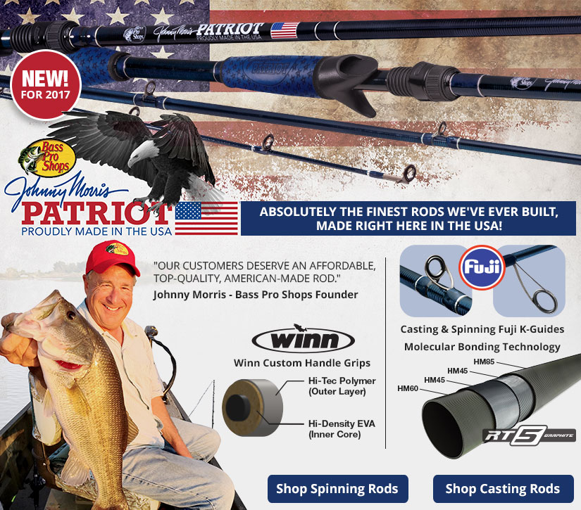 Johnny Morris Patriot Rods - Made In The USA