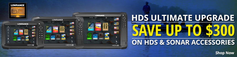 HDS Ultimate Upgrade Save up to $300 on HDS & Sonar Accessories - Shop Now