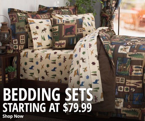Bedding Sets Starting at $79.99 - Shop Now