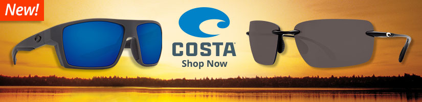 New Costa Sunglasses - Shop Now