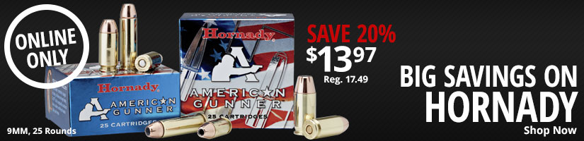 Big Savings on Hornady