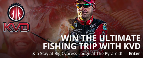 Win The Ultimate Fishing Trip With KVD & A Stay At Big Cypress Lodge At The Pyramid - Enter