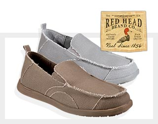 RedHead Chilled Out Canvas Slip-On Shoes for Men $19.97 - Save 20%