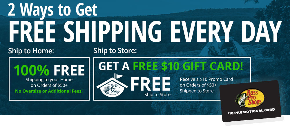 2 Ways to Get Free Shipping Every Day!
