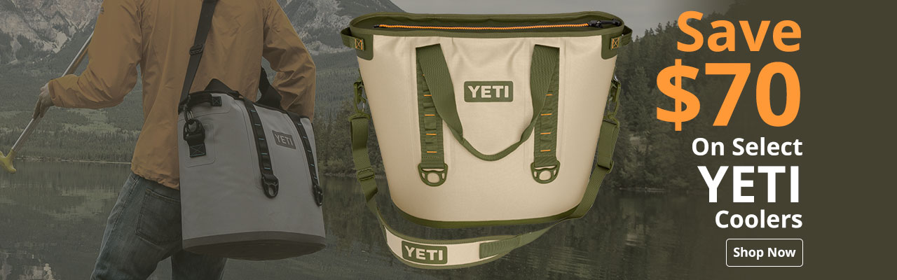 Save on select YETI coolers
