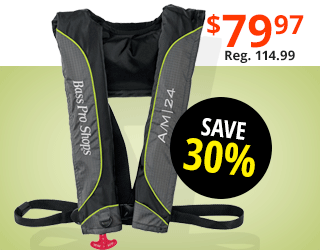 Auto/Manual Inflatable Life Vest