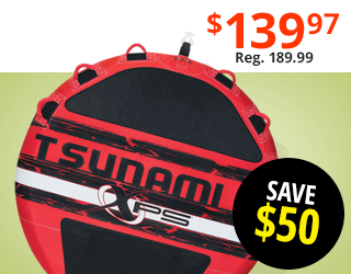 "Tsunami 80"" 3-Person Towable"