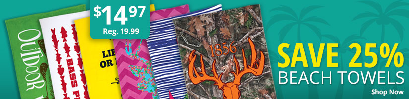 Save 25% Beach Towels