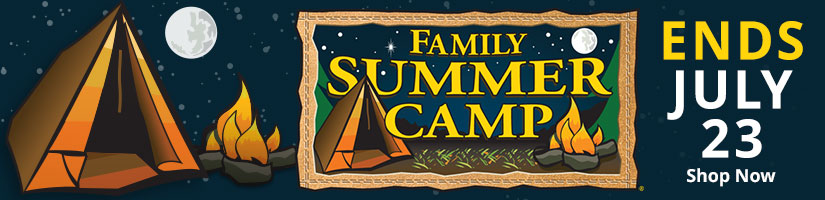 Family Summer Camp - Shop Now