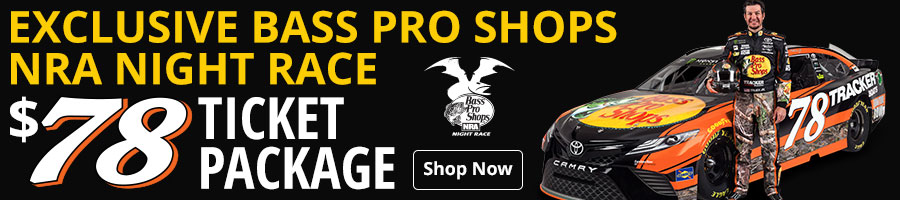 Exclusive Bass Pro Shops NRA Night Race $78 Ticket Package Available - Shop Now