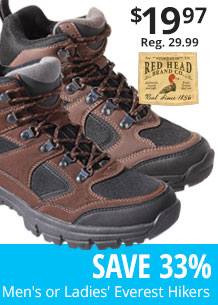 RedHead Men's or Ladies' Everest Hikers