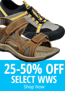 25-50% Off Select WWS