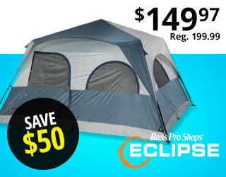Bass Pro Shops Eclipse 8-Person Speed Frame Tent