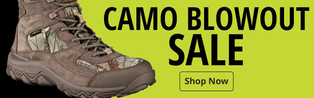 Camo Blowout - Shop Now