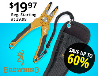 Browning Fishing Aluminum Pliers
