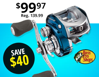 Bass Pro Shops Johnny Morris Signature Series Titanium 8 Baitcast Reel
