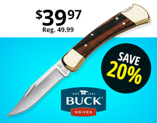 Buck 110 Folding Hunter Knife