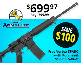 Armalite M-15 Defensive Sporting Semi-Auto Rifle