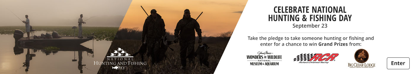 Celebrate National Hunting & Fishing Day - Take the Pledge