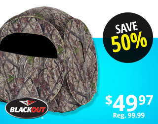 BlackOut Ground Blind