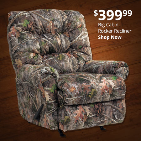 Big Cabin Rocker Recliner