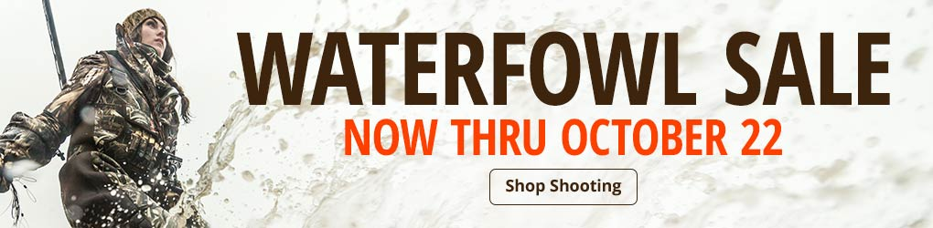 Waterfowl Sale - Now Thru October 22 - Shop Shooting