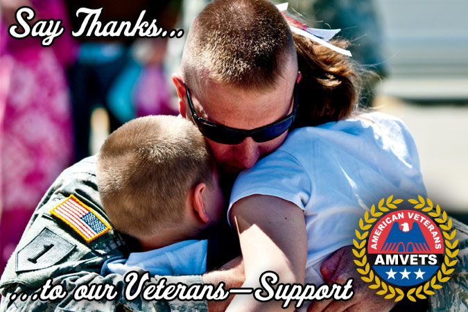 AmVets - Say Thanks to our Veterans