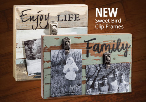 New Sweet Bird Clip Frames