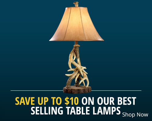 Save up to $20 on our Best Selling Table Lamps