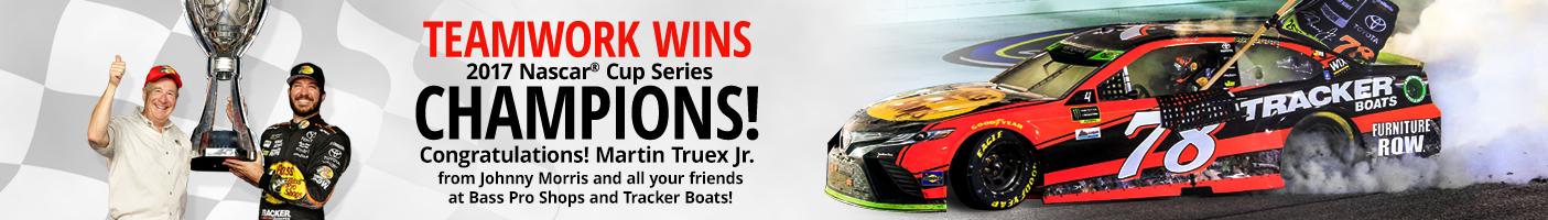 Congrats, Martin Truex Jr. for Winning the Chase Championship