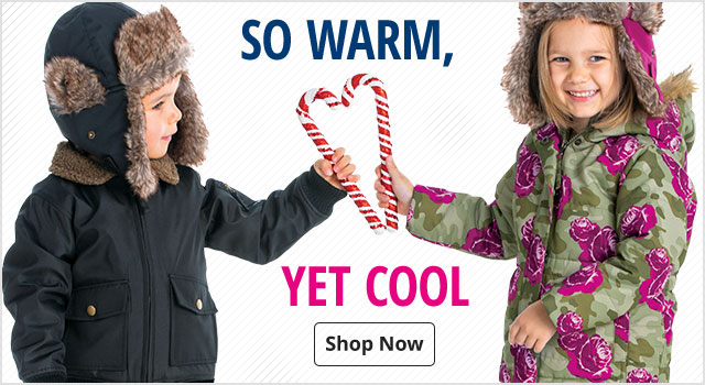 So Warm, Yet Cool - Shop Kids' Outerwear