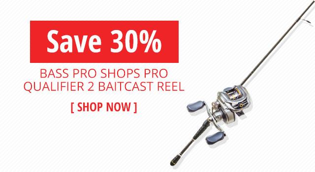 Bass Pro Shops Pro Qualifier 2 Baitcast Reel