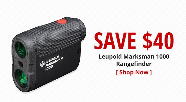 Save $40 on Leupold Marksman 1000 Rangefinder