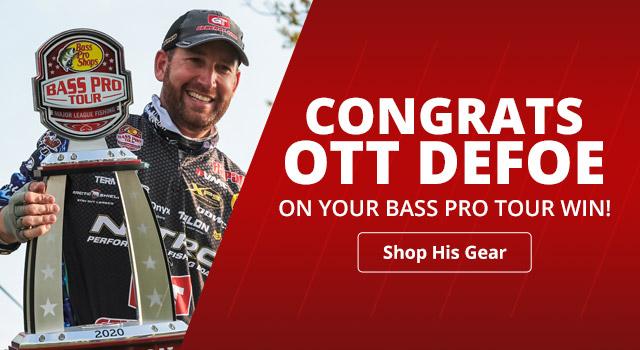 Shop Ott Defoe's Bass Pro Tour Winning Gear